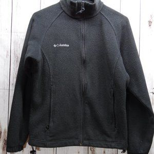 Womans black fleece Columbia jacket size S small